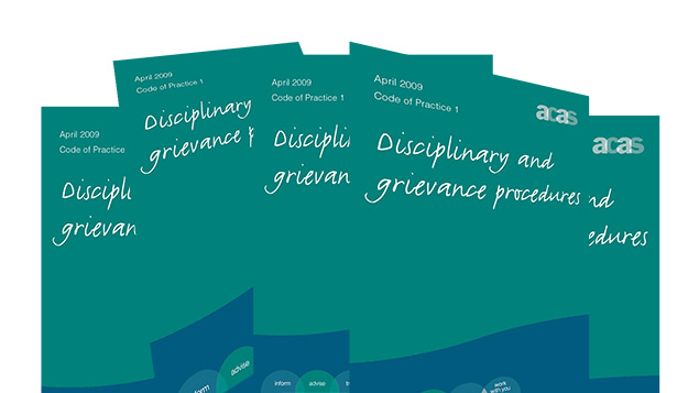 acas code of practice For the purposes of a claim for unfair dismissal the relevant code is the acas code of practice on disciplinary and grievance procedures 2009 (the acas code) this code came into effect on 06 april 2009 the provisions of s207a effectively replaced the discredited statutory dispute resolution.