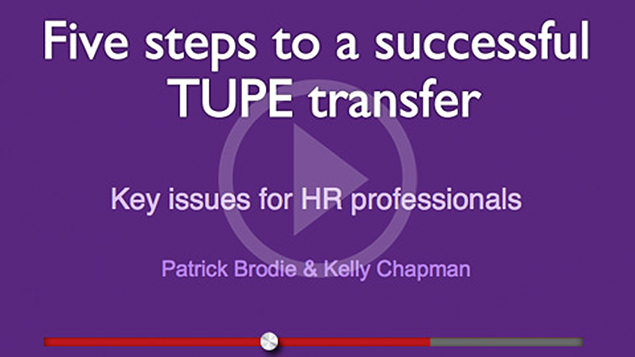 Oh Law Firm >> Webinar: Five steps to a successful TUPE transfer - Personnel Today