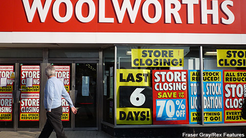 "Woolworths staff were left out of pocket by a ruling on the meaning of   ""establishment"" in collective redundancies"