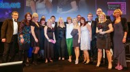 Barclays - overall winners of the Personnel Today Awards 2013