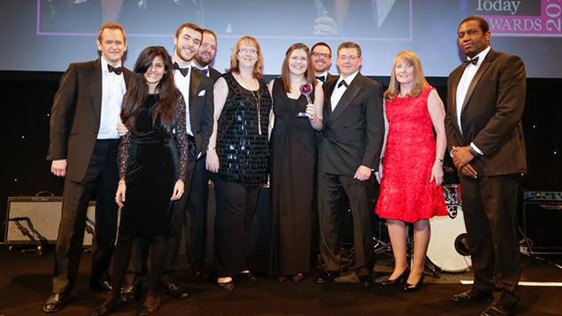 EDF Energy collecting their award
