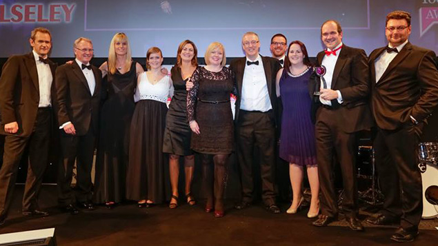 Wolseley win the Talent Management 2013 award