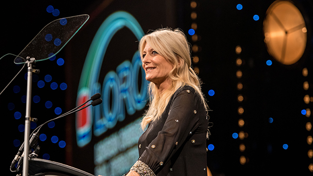 Gaby Roslin hosts the 2016 Personnel Today awards