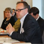 Andrew Baird chaired the round table