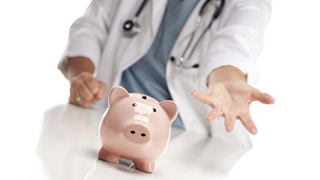 Healthcare piggy bank