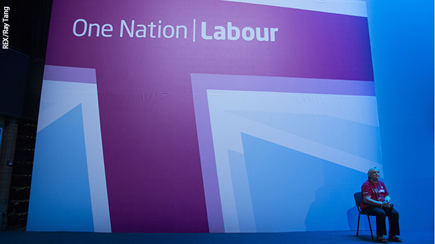 The Labour Party Conference 2013. Photo: REX/Ray Tang