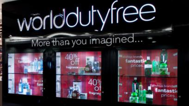 World Duty Free sign