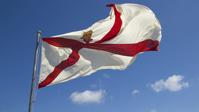 Jersey's flag
