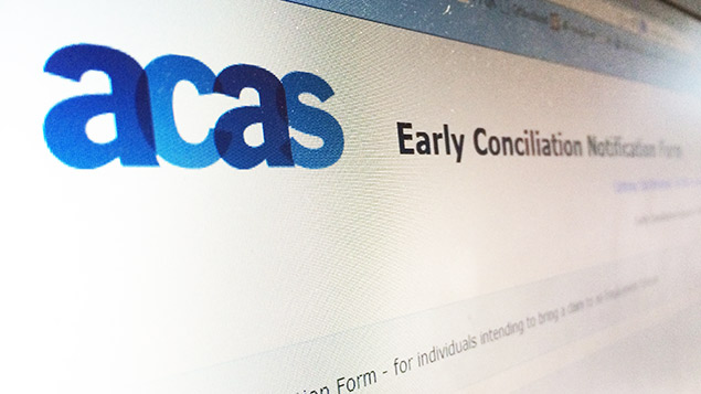 The early conciliation notification form