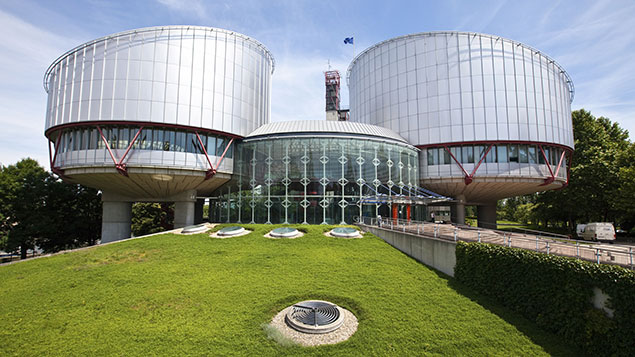 The European Court of Human Rights building in Strasbourg, France. Photo: REX/Image Broker