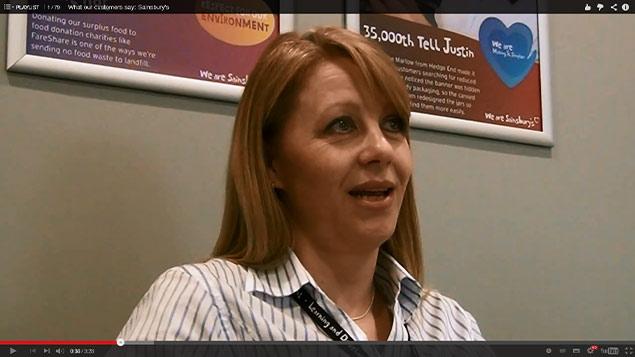 Sarah Jukes of Sainsbury's