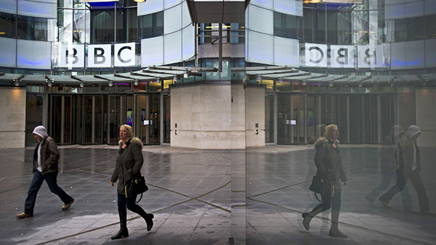 """Does public service broadcasting serve a """"higher purpose""""? Photo: REX/London News Pictures"""