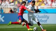 England v Costa Rica at the 2014 World Cup. REX/Ben Queenborough/BPI
