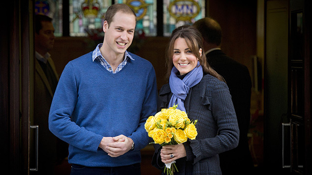 Sickness absence during pregnancy - the Duke and Duchess of Cambridge