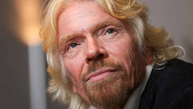 Sir Richard Branson has proposed an unlimited holiday policy for Virgin head office staff in the UK and US. REX/Isopix
