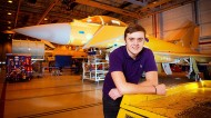 BAE Systems, one of the Government's Phase 3 apprenticeship trailblazers. Photo: REX/Paul Cooper