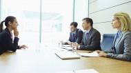 Interim HR job interview