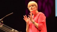 Rita Gunther McGrath speaking at the CIPD conference last week