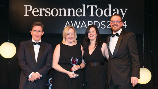Alison Bell wins HR Professional of the Year