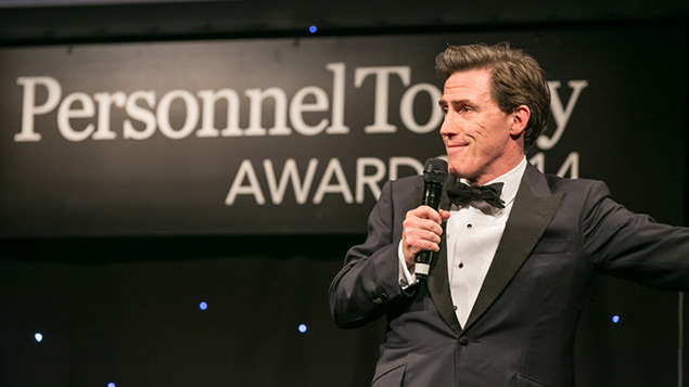 Rob Brydon hosts the 2014 Personnel Today Awards