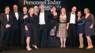 Wolseley collect their 2014 Award for Employee Benefits