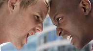 personality clashes in the workplace - two men at loggerheads