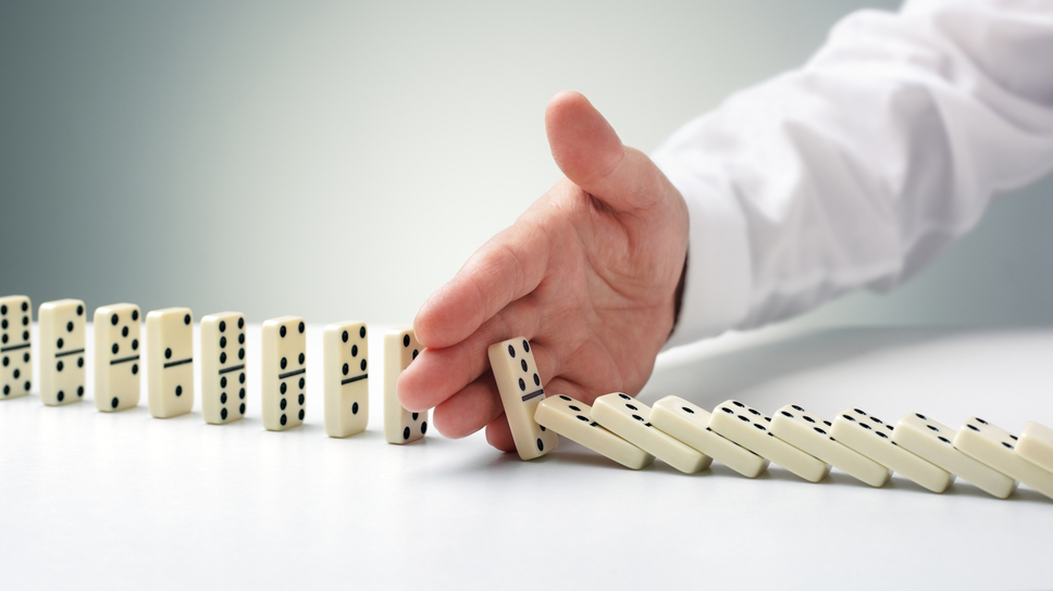 stopping domino effect