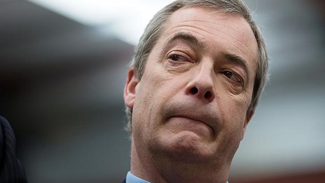 "UKIP leader Nigel Farage would scrap ""much of"" the discrimination law in the UK. Photo: Joel Goodman/LNP/REX"