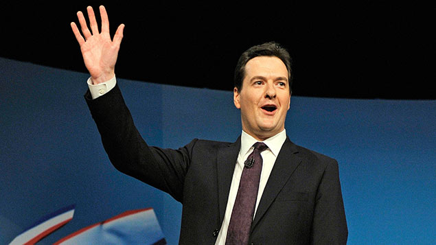 George Osborne announcing Shares for Rights in 2012. Photo: Bruce Adams / Daily Mail / REX