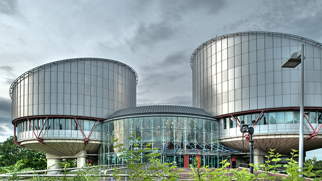 Under the plans, decisions made at the European Court of Human Rights in Strasbourg would not be binding on UK courts. Photo: F1 Online/REX