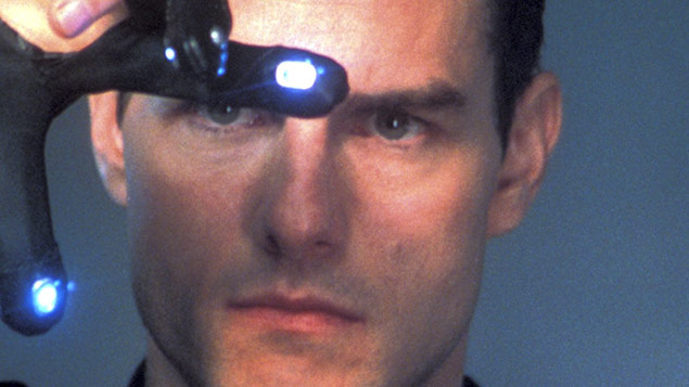 Tom Cruise visualises data in Minority Report Photo:Everett / REX_Shutterstock