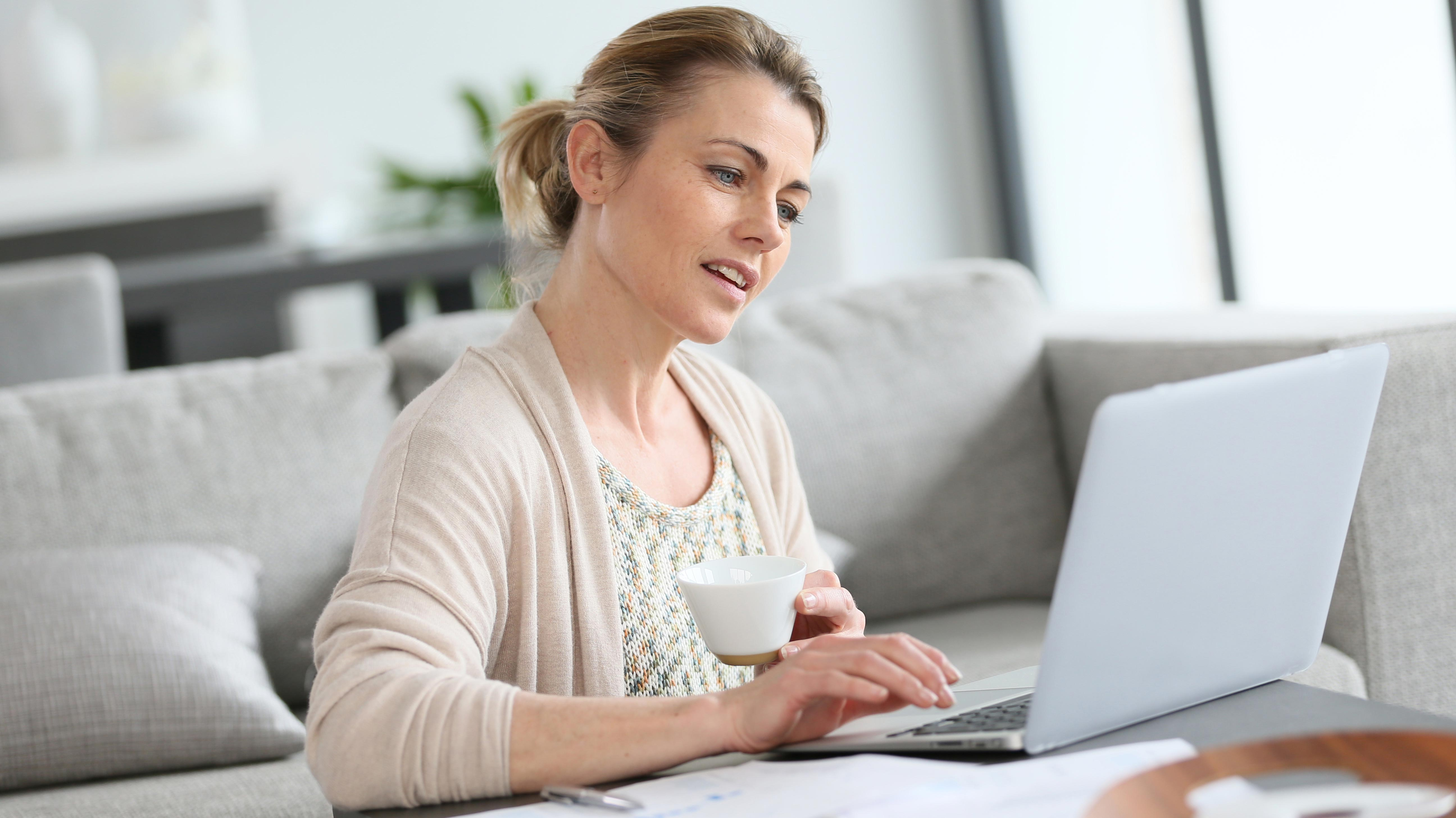 45% more women are working from home now than in 2005