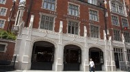 The architect worked on the design of London's Chiltern Firehouse restaurant. Photo: Jeff Blackler/REX