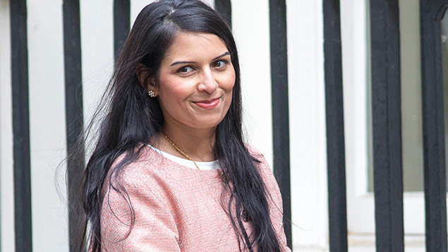 Priti Patel, the minister for employment. Photo: Mark Thomas/REX