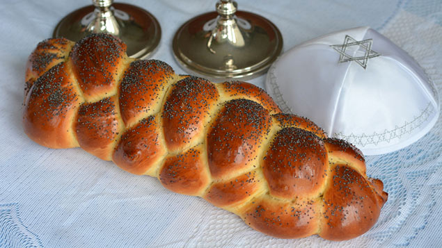 Shabbat, the Jewish day of rest, begins Friday evening and ends Saturday night