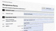 Responding to an employment tribunal claim - form ET3