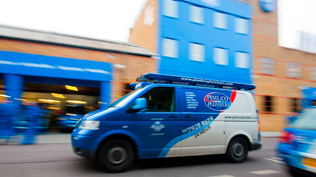 Pimlico Plumbers owner Charlie Mullins says he will not comply with the ECJ ruling even if the company instructed to. Photo: Pimlico Plumbers
