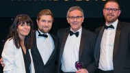 Arup collect their Health and Wellbeing Award