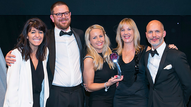 Merlin Entertainments receive their Employer Branding Award