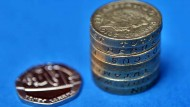 £7.20, the national living wage when it starts in April 2016. Jeff Blackler/REX Shutterstock