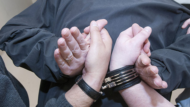 The case related to the method of restraining a prisoner. Stock photo: ID.8 Photography/REX Shutterstock