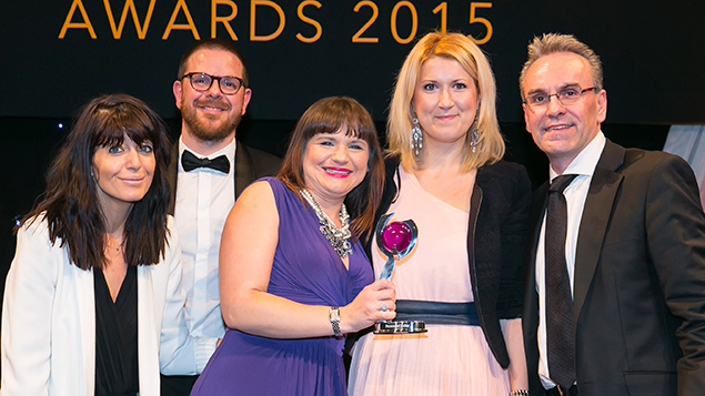 Cecil and Central Housing Trust collect their award