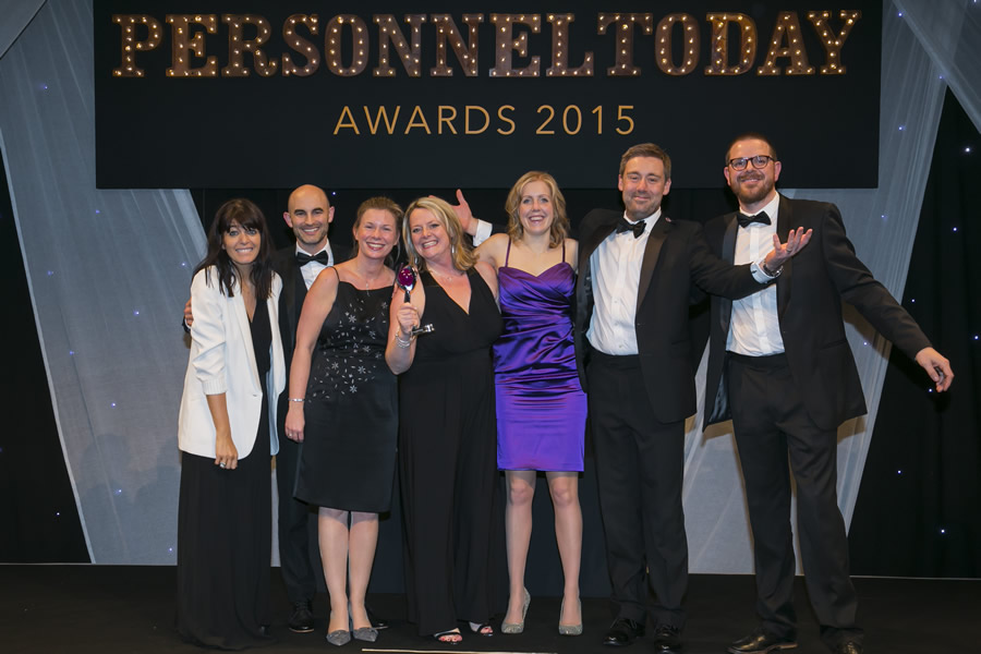 ATS Euromaster were voted top in talent management at the Personnel Today Awards 2015.