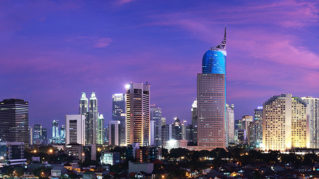 Jakarta, Indonesia's capital city, is home to more than 10 million people.