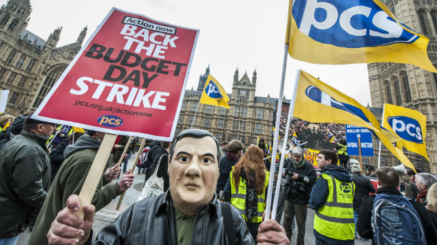Could the Trade Union Bill lead to new forms of industrial action? PHOTO: Photofusion/REX Shutterstock