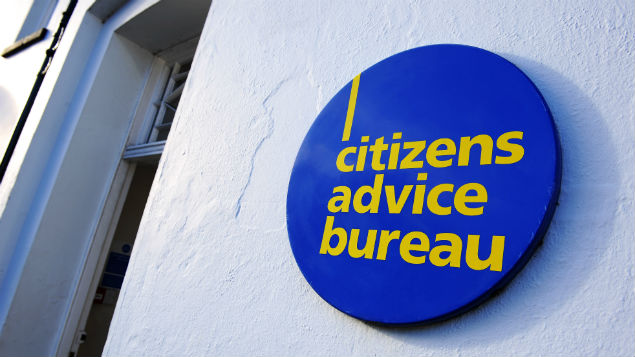 Employment problems are a chief cause of  attendance at the Citizens Advice Bureau PHOTO: Geoff Moore/REX Shutterstock