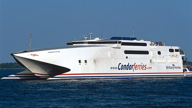 Toilet door signage has been updated across Condor Ferries' fleet