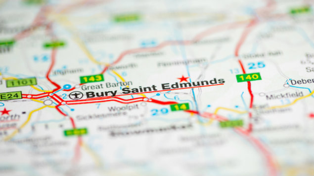Accessing employment tribunal decisions currently means a visit to Bury St Edmunds (or Glasgow for Scottish decisions) /sevenMaps7/Shutterstock.