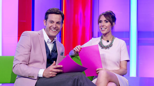 Matt Baker and Alex Jones on The One Show – A memo suggested a new reporter should be northern and from an ethnic minority. Photo: David Bebber/REX/Shutterstock