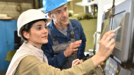 A third of manufacturing firms  would pay for medical treatment if there was a benefit to the company,  the EEF survey found.